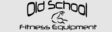 Old School Fitness Equipment Logo